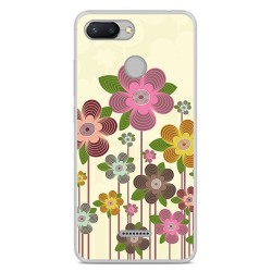 Funda Gel Tpu para Xiaomi Redmi 6 Diseño Primavera En Flor Dibujos