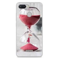Funda Gel Tpu para Xiaomi Redmi 6 Diseño Reloj Dibujos