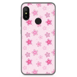 Funda Gel Tpu para Xiaomi Redmi 6 Pro / Mi A2 Lite Diseño Flores Dibujos