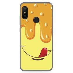Funda Gel Tpu para Xiaomi Redmi 6 Pro / Mi A2 Lite Diseño Helado Vainilla Dibujos