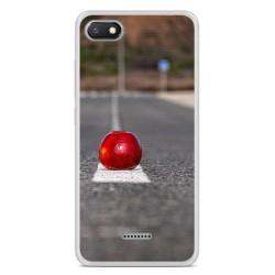 Funda Gel Tpu para Xiaomi Redmi 6A Diseño Apple Dibujos