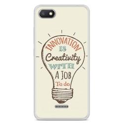 Funda Gel Tpu para Xiaomi Redmi 6A Diseño Creativity Dibujos