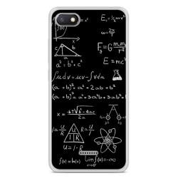Funda Gel Tpu para Xiaomi Redmi 6A Diseño Formulas Dibujos