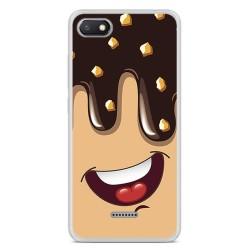 Funda Gel Tpu para Xiaomi Redmi 6A Diseño Helado Chocolate Dibujos