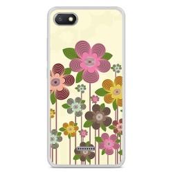 Funda Gel Tpu para Xiaomi Redmi 6A Diseño Primavera En Flor Dibujos