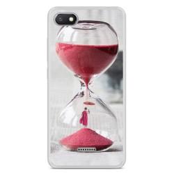Funda Gel Tpu para Xiaomi Redmi 6A Diseño Reloj Dibujos