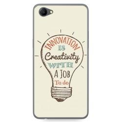 Funda Gel Tpu para Oppo A3 Diseño Creativity Dibujos