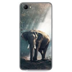 Funda Gel Tpu para Oppo A3 Diseño Elefante Dibujos