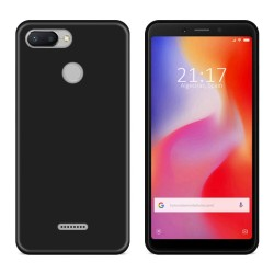 Funda Gel Tpu para Xiaomi Redmi 6 Color Negra