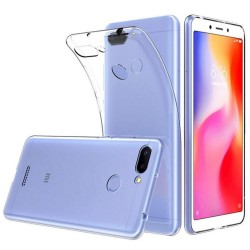 Funda Gel Tpu Fina Ultra-Thin 0,5mm Transparente para Xiaomi Redmi 6