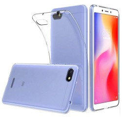 Funda Gel Tpu Fina Ultra-Thin 0,5mm Transparente para Xiaomi Redmi 6A