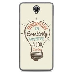 Funda Gel Tpu para Cubot Max Diseño Creativity Dibujos