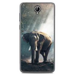 Funda Gel Tpu para Cubot Max Diseño Elefante Dibujos