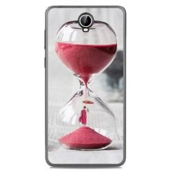 Funda Gel Tpu para Cubot Max Diseño Reloj Dibujos