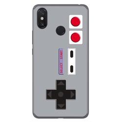 Funda Gel Tpu para Xiaomi Mi Max 3 Diseño Consola Dibujos
