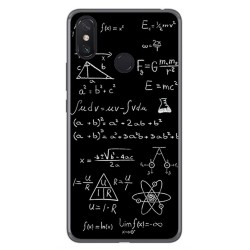 Funda Gel Tpu para Xiaomi Mi Max 3 Diseño Formulas Dibujos