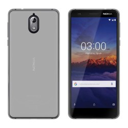 Funda Gel Tpu para Nokia 3.1 (2018) Color Transparente