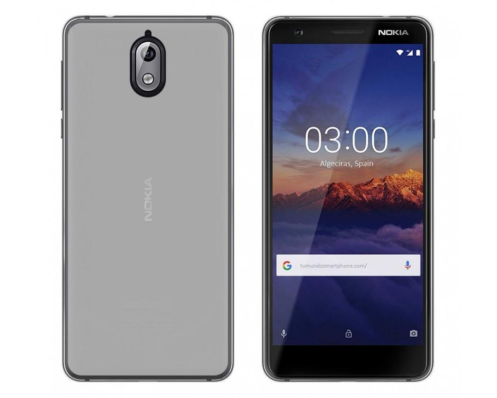 e1061306834 Funda Gel Tpu Silicona Transparente Nokia 3.1 (2018) |Envio Gratis
