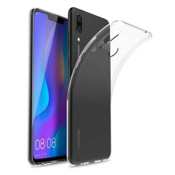 Funda Gel Tpu Fina Ultra-Thin 0,5mm Transparente para Huawei P Smart Plus
