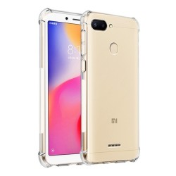 Funda Gel Tpu Anti-Shock Transparente para Xiaomi Redmi 6