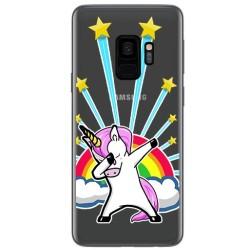 Funda Gel Transparente para Samsung Galaxy S9 Diseño Unicornio Dibujos