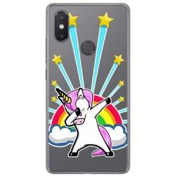 Funda Gel Transparente para Xiaomi Mi 8 Se Diseño Unicornio Dibujos