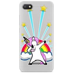 Funda Gel Transparente para Xiaomi Redmi 6A Diseño Unicornio Dibujos
