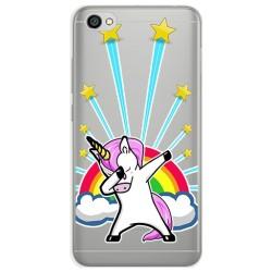 Funda Gel Transparente para Xiaomi Redmi Note 5A Diseño Unicornio Dibujos