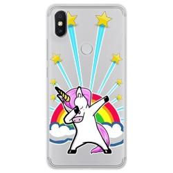 Funda Gel Transparente para Xiaomi Redmi S2 Diseño Unicornio Dibujos