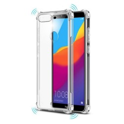Funda Gel Tpu Anti-Shock Transparente para Huawei Honor 7C / Y7 2018