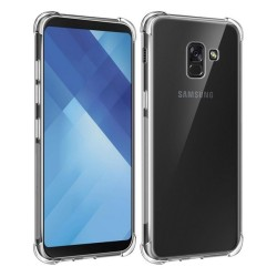 Funda Gel Tpu Anti-Shock Transparente para Samsung Galaxy J6 (2018)