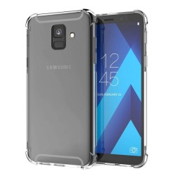 Funda Gel Tpu Anti-Shock Transparente para Samsung Galaxy A6 Plus (2018)