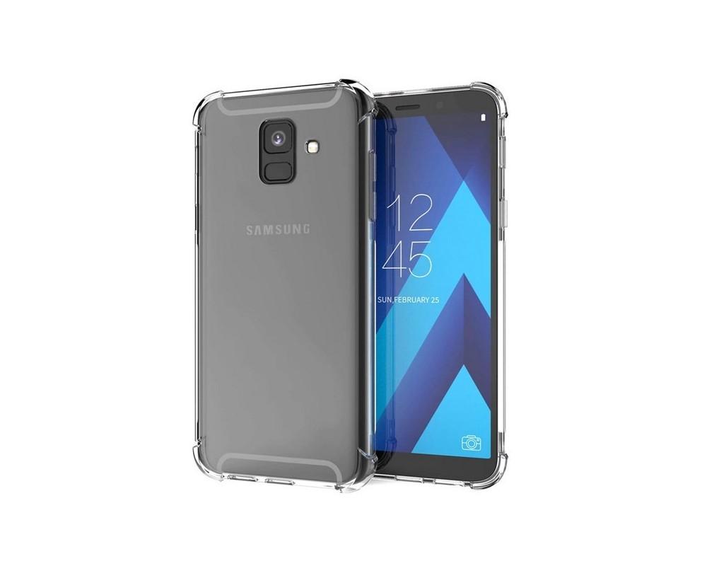 4ef2a20a811 Funda Gel Tpu Anti-Shock Transparente para Samsung Galaxy A6 Plus (2018)