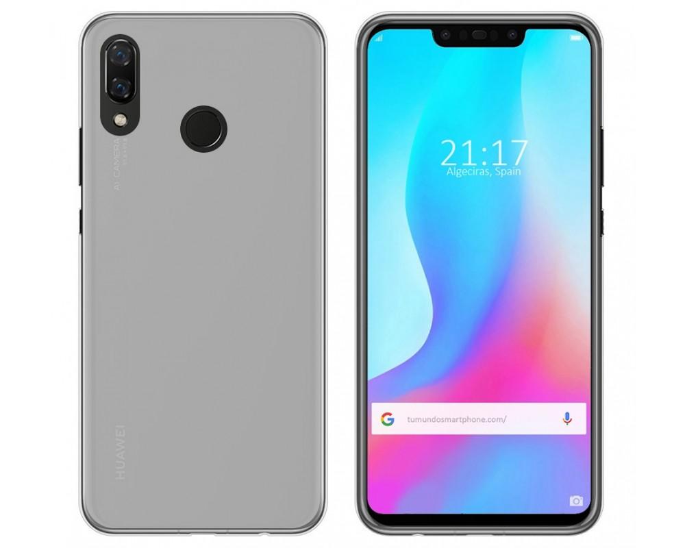 1a1f5262469 Funda Gel Tpu Silicona Transparente Huawei P Smart Plus |Envio Gratis