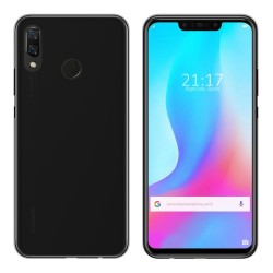 Funda Gel Tpu para Huawei P Smart Plus Color Negra