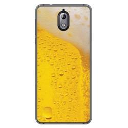 Funda Gel Tpu para Nokia 3.1 (2018) Diseño Cerveza Dibujos
