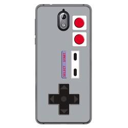 Funda Gel Tpu para Nokia 3.1 (2018) Diseño Consola Dibujos