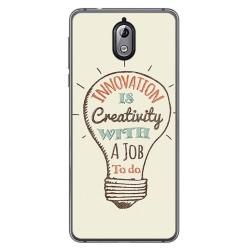 Funda Gel Tpu para Nokia 3.1 (2018) Diseño Creativity Dibujos