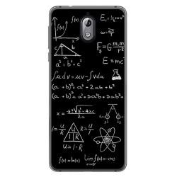 Funda Gel Tpu para Nokia 3.1 (2018) Diseño Formulas Dibujos