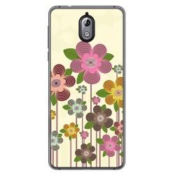 Funda Gel Tpu para Nokia 3.1 (2018) Diseño Primavera En Flor Dibujos