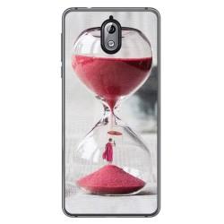 Funda Gel Tpu para Nokia 3.1 (2018) Diseño Reloj Dibujos