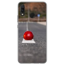 Funda Gel Tpu para Huawei P Smart Plus Diseño Apple Dibujos