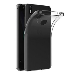 Funda Gel Tpu Fina Ultra-Thin 0,5mm Transparente para Bq Aquaris X / X Pro