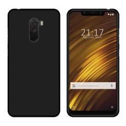 Funda Gel Tpu para Xiaomi Pocophone F1 Color Negra