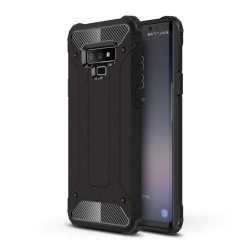 Funda Tipo Hybrid Tough Armor (Pc+Tpu) Negra para Samsung Galaxy Note 9