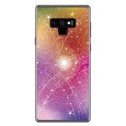 Funda Gel Tpu para Samsung Galaxy Note 9 Diseño Abstracto Dibujos