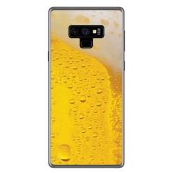 Funda Gel Tpu para Samsung Galaxy Note 9 Diseño Cerveza Dibujos