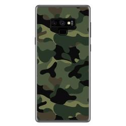 Funda Gel Tpu para Samsung Galaxy Note 9 Diseño Camuflaje Dibujos