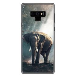 Funda Gel Tpu para Samsung Galaxy Note 9 Diseño Elefante Dibujos