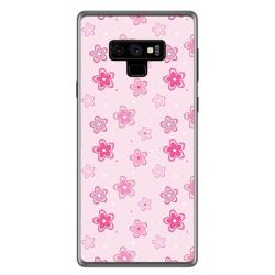 Funda Gel Tpu para Samsung Galaxy Note 9 Diseño Flores Dibujos